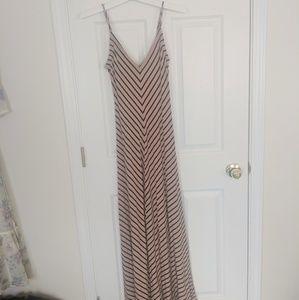 Pattern maxi dress
